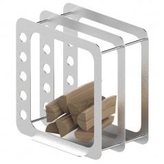 Корзина для дров К3 inox